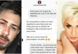 'LIXO E SER DAS TREVAS': Carlinhos Maia e Romagaga se desentendem e trocam farpas nas redes sociais: VEJA VÍDEOS