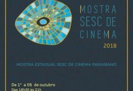Sesc realiza etapa estadual da Mostra de Cinema 2018