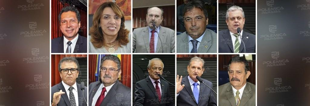 deputados 1024x350 - ARTICULADORES, CONCILIADORES OU INDEPENDENTES: deputados avaliam nomes cotados para assumir Presidência da ALPB