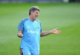 Renato Gaúcho é escolhido 28º melhor técnico do mundo por revista inglesa