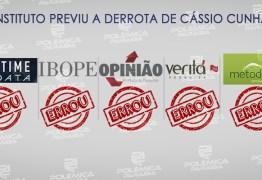 PESQUISAS X URNAS: nenhum instituto previu a derrota de Cássio Cunha Lima nas eleições 2018
