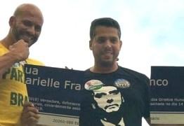 Eleito que destruiu placa de Marielle quer PSL em Direitos Humanos do Rio de Janeiro
