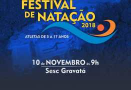 Inscrições abertas para Festival de Natação em João Pessoa