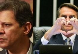 ELE ACEITA, MAS COM UMA CONDIÇÃO: Jair Bolsonaro diz que concorda em ir a debates com Fernando Haddad