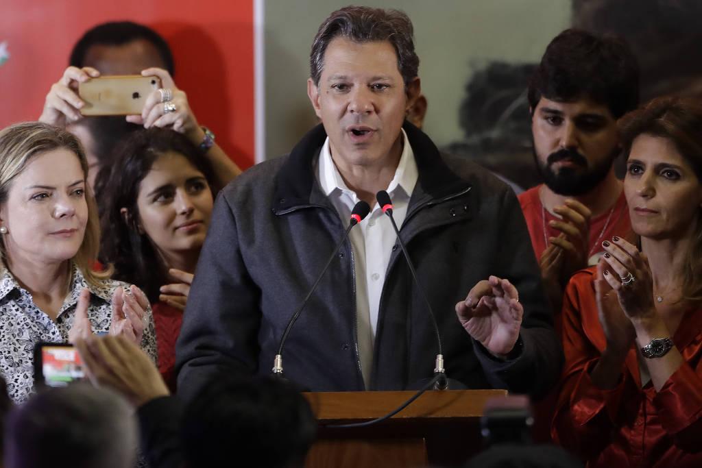 haddad 2 - Haddad visita Lula na prisão para discutir segundo turno