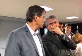 Haddad diz que, se eleito, quer Ricardo Coutinho ocupando ministério em Brasília