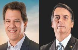 Levantamento DataPoder360: nos votos válidos, Bolsonaro tem 33% e Haddad vai a 27%