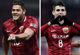 Mais caros da história da Ásia, Oscar e Hulk podem conquistar primeiro título na China