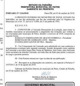 mmmn 280x300 - PATOS RETROCEDE ?: Bonifácio Rocha nomeia denunciado em operação que derrubou mãe e avó de Hugo Motta