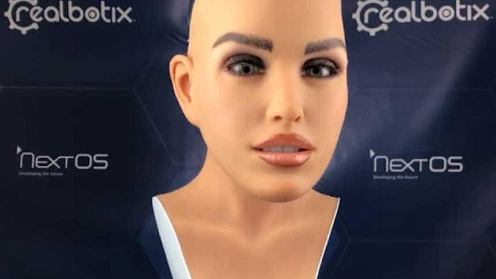 naom 5bc791c47250c - Brasileiros criam robô humanoide para atender em restaurantes e hotéis