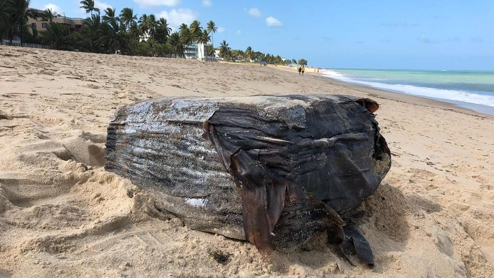 pacotes no litoral - Pacotes sem identificação são encontrados em praias da PB e entregues à Polícia Federal