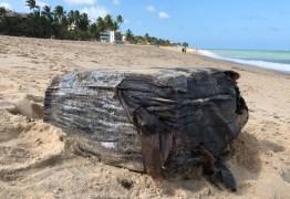 Pacotes sem identificação são encontrados em praias da PB e entregues à Polícia Federal