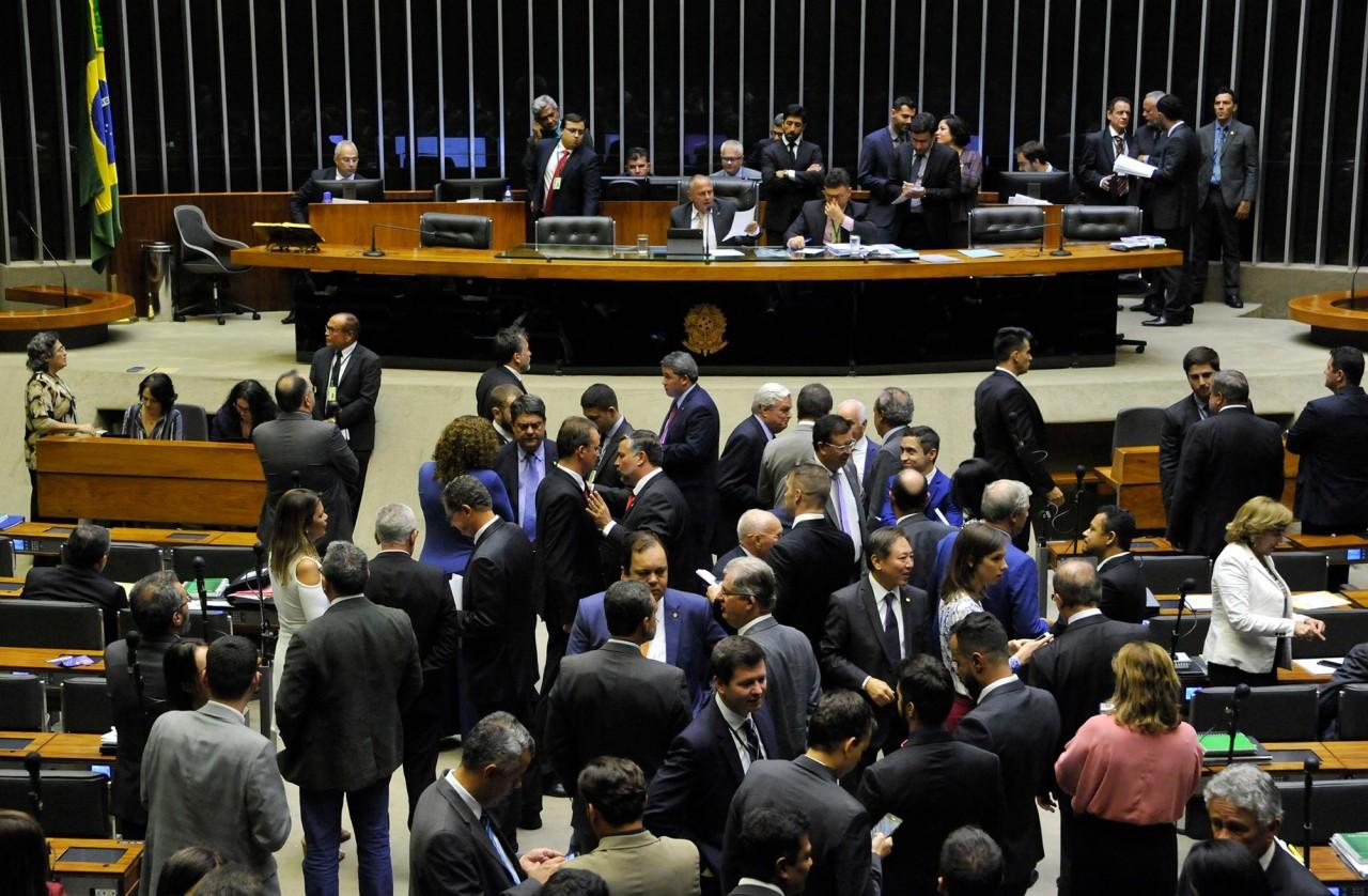 plenario camara luis macedo ag camara - PDT, PSB e PCdoB vão formar maior bloco de oposição ao governo do presidente eleito Jair Bolsonaro