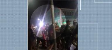 policial atirador - PM é preso após fazer disparos e ferir quatro pessoas durante festa pró-Bolsonaro
