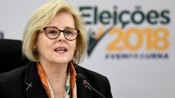 """Resultado de imagem para Rosa Weber pede que eleitor não deixe que nada """"tumultue"""" seu voto"""