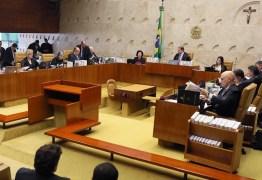 Reajuste salarial para STF terá impacto de R$ 25 milhões no judiciário paraibano