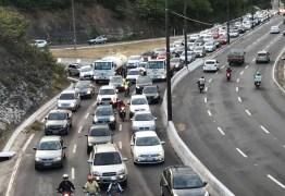 Fluxo de carros no Réveillon ultrapassa período do Natal na PB