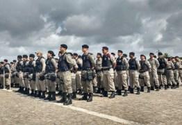 Embarque das tropas estaduais que vão atuar na segurança das eleições começa nesta quarta
