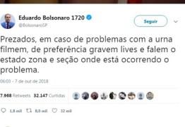 PT pede para TSE remover post e multar Eduardo Bolsonaro