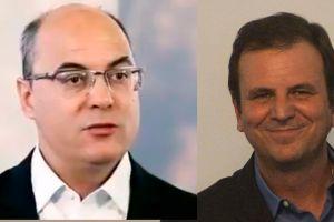 wilson witzel e eduardo paes 300x200 - Witzel ameaça dar 'voz de prisão' a Paes em debate; ex-prefeito diz que não aceitará 'carteirada'