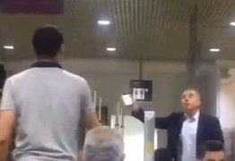 Após brigar com dirigente do Inter, árbitro é hostilizado em aeroporto