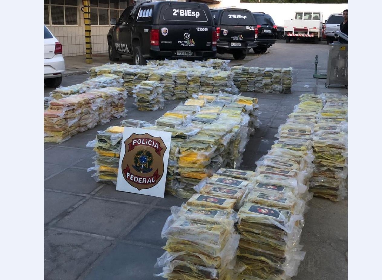 COCA 3 - Polícia Federal apreende 5 toneladas e meia de cocaína no nordeste: VEJA VÍDEO