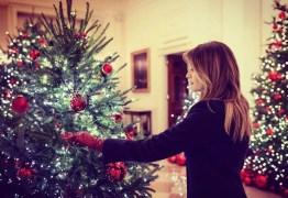 VEJA VÍDEO: Melania Trump mostra decoração luxuosa da Casa Branca para o Natal