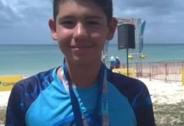 Paraibano conquista medalha de ouro na Copa Brasil de Maratonas Aquáticas