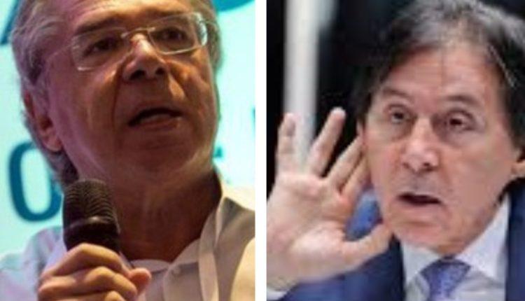 """Eunicio 750x430 - Eunício diz que colegas estão """"horrorizados"""" após conversa com Paulo Guedes: 'Povo de rede social'"""