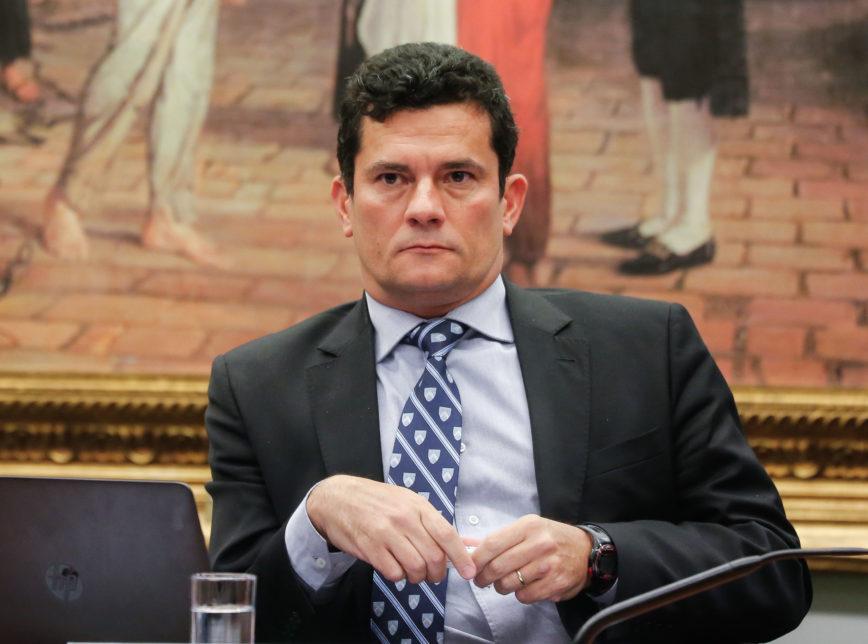 Moro 9643 1 868x644 - Sérgio Moro e seguidores de Olavo de Carvalho disputam para indicar novo PGR