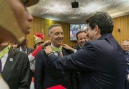 Aguinaldo Ribeiro recebe comenda da Ordem do Mérito do Trabalho Getúlio Vargas