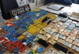 Suspeito de 'agiotagem' é preso com R$ 56 mil e 138 cartões, em João Pessoa