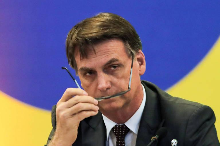 bolsonaro óculos - TSE vai julgar contas da campanha de Bolsonaro no dia 4 de dezembro