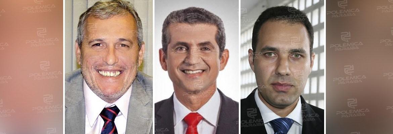 candidatos oab 1 - DEBATE TV ARAPUAN: Carlos Fábio e Sheyner Asfora questionam transparência na prestação de contas da gestão de Paulo Maia