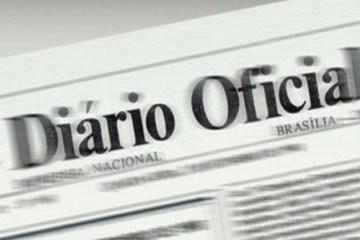 diário oficial da união 990x556 - 'CRUZ DE SANGUE': Governador concede medalha a Cabo da PM ferido em serviço