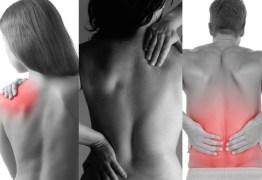 Dor nas costas é primeiro sintoma de doença que 'cola' ossos da coluna