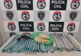 Polícia apreende mais de 70 explosivos que seriam usados em presídio de Campina Grande