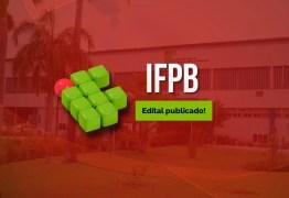 Edital para concurso do IFPB deve ser divulgado até dezembro