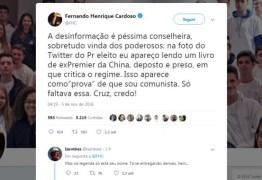 """FHC rebate Bolsonaro nas redes sociais: """"Desinformação é péssima conselheira"""""""