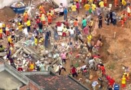 TRAGÉDIA: Deslizamento em morro provoca nove mortes; VEJA IMAGENS