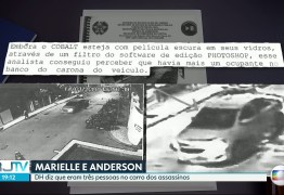 Polícia conclui que havia uma 3ª pessoa no carro usado na execução de Marielle e Anderson