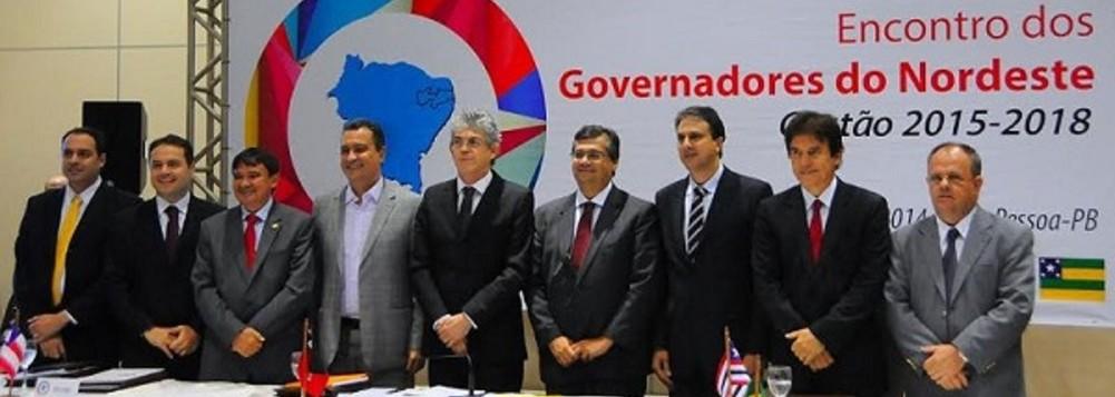 governadores do nordeste - Governadores do Nordeste fecham agenda única para levar a Bolsonaro