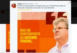 GOVERNADORES E BOLSONARO – João Azevedo não quer enfrentamento e defende ação conjunta por uma atenção diferenciada ao Nordeste