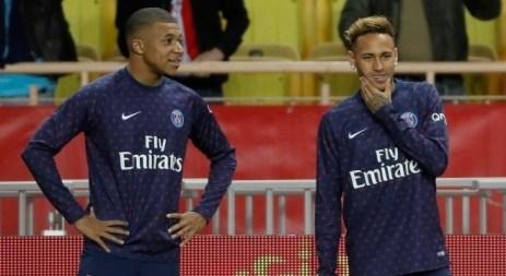 mbappe e neymar 28112018091604747 300x164 - PSG joga para seguir vivo na Liga dos Campeões e salvar projeto