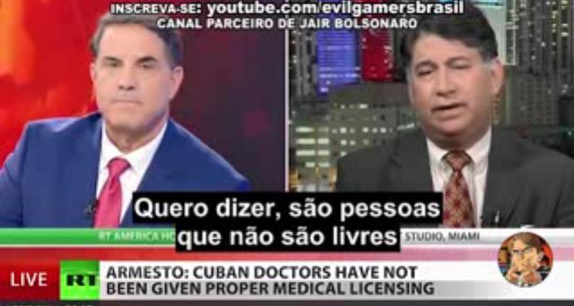 mm - VEJA VÍDEO: Jornalista americano e analista político de Cuba debatem sobre 'Mais Médicos': entenda como mídia estrangeira encara o problema