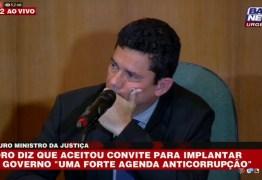 ASSISTA AGORA : Moro participa de coletiva sobre Superministério