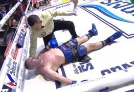 VEJA VÍDEO: Após nocaute, morre lenda italiana sete vezes campeão mundial de muay thai