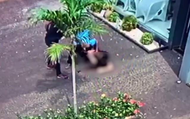 tiro - VEJA VÍDEO: Marido e sobrinho matam mulher por ciúmes