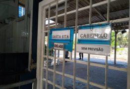 Viagens de trem são suspensas após incêndio em linha férrea de João Pessoa