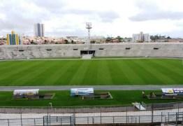 Novo gramado do Amigão será inaugurado nesta quarta-feira